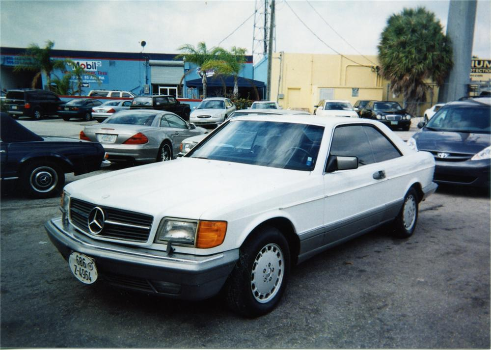 1986 mercedes benz 560sec coupe 75382