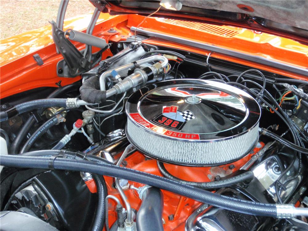 1969 CHEVROLET CAMARO RS/SS COUPE - Engine - 75383