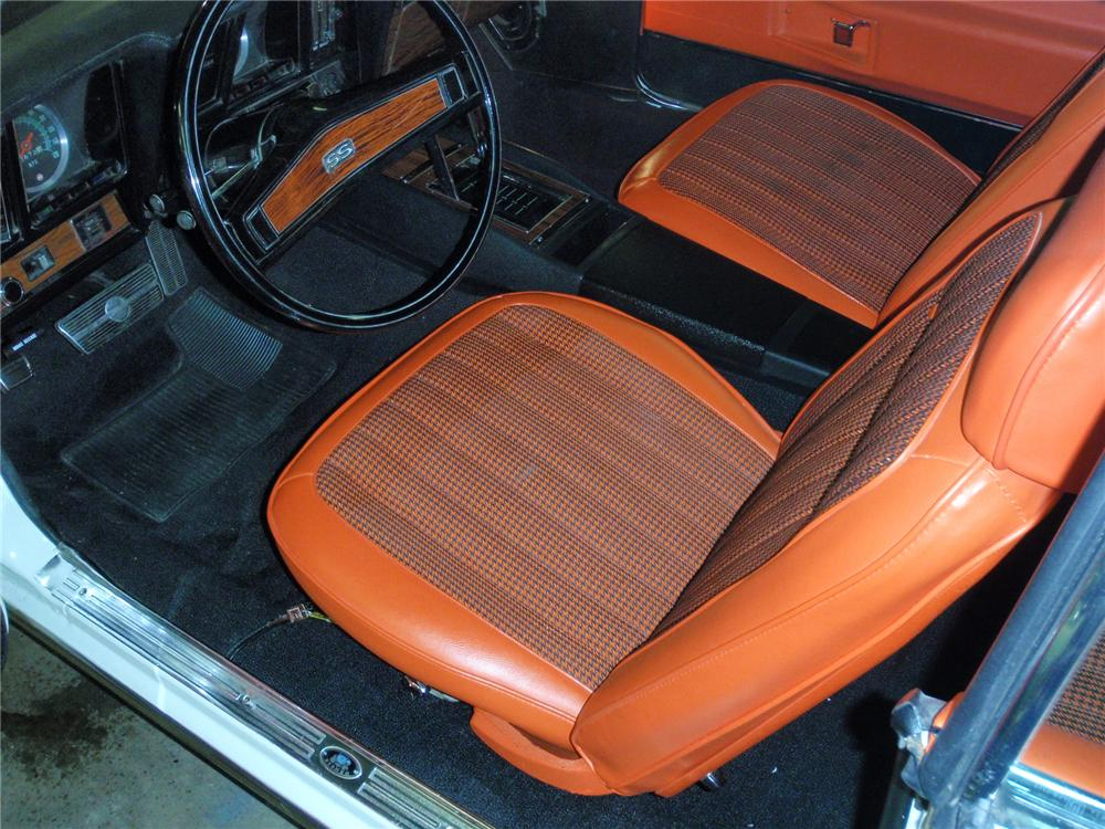 1969 CHEVROLET CAMARO Z-11 CONVERTIBLE PACE CAR EDITION - Interior - 75384
