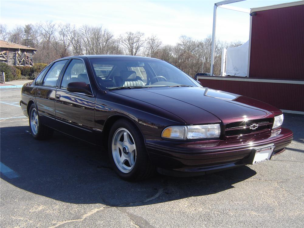 1996 Chevrolet Impala Ss 4 Door Sedan 75385