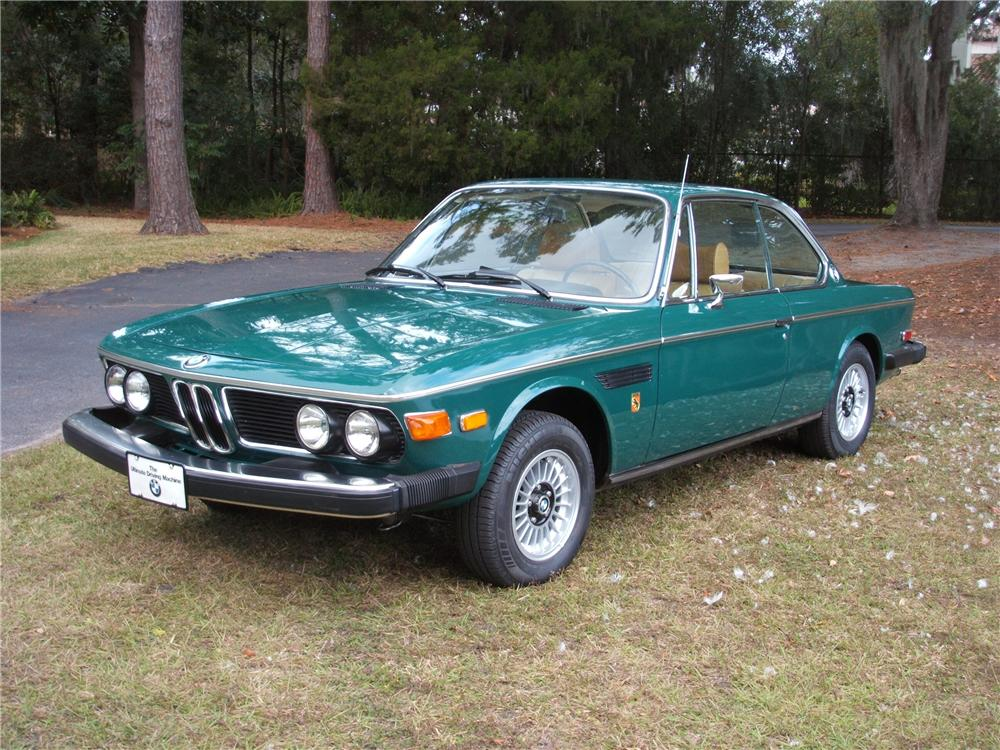 1974 BMW 3.0 CS COUPE - Front 3/4 - 75396