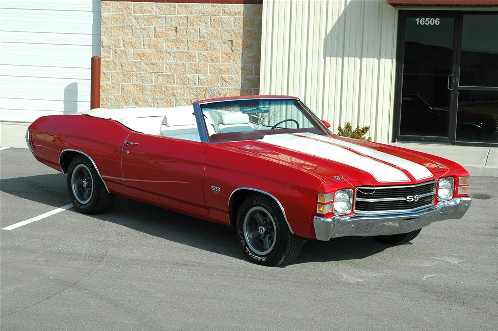 1971 Chevrolet Chevelle Ss 454 Convertible 75401