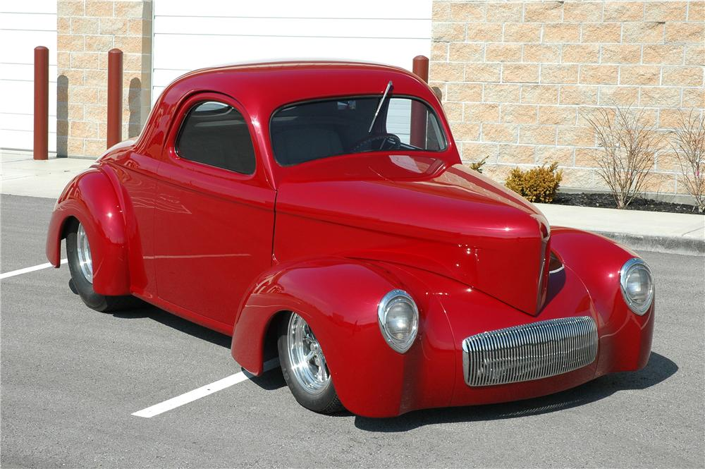 1941 WILLYS CUSTOM COUPE - Front 3/4 - 75402