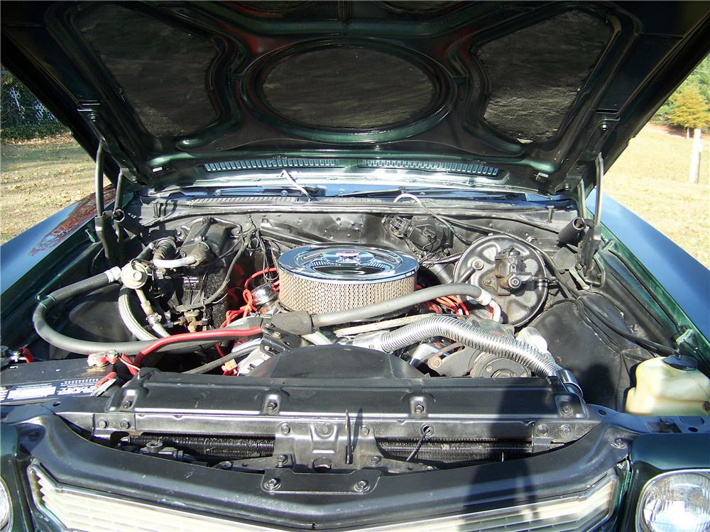 1970 CHEVROLET CHEVELLE SS COUPE - Engine - 75412