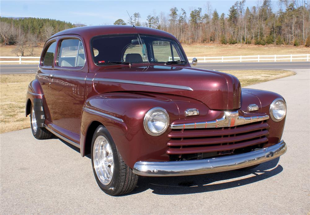 1947 ford custom 2 door hardtop 75420 for 1947 ford 2 door
