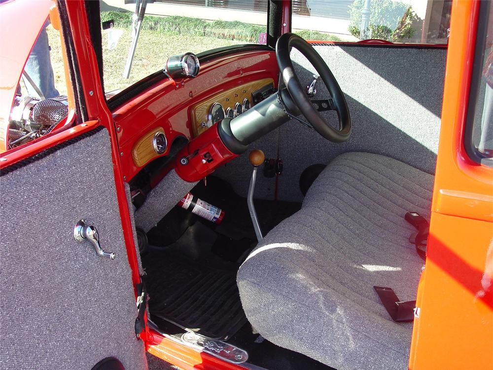 1927 FORD 5 WINDOW STREET ROD - Interior - 75424