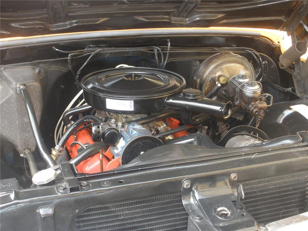 1972 CHEVROLET SHORT BOX PICKUP - Engine - 75444