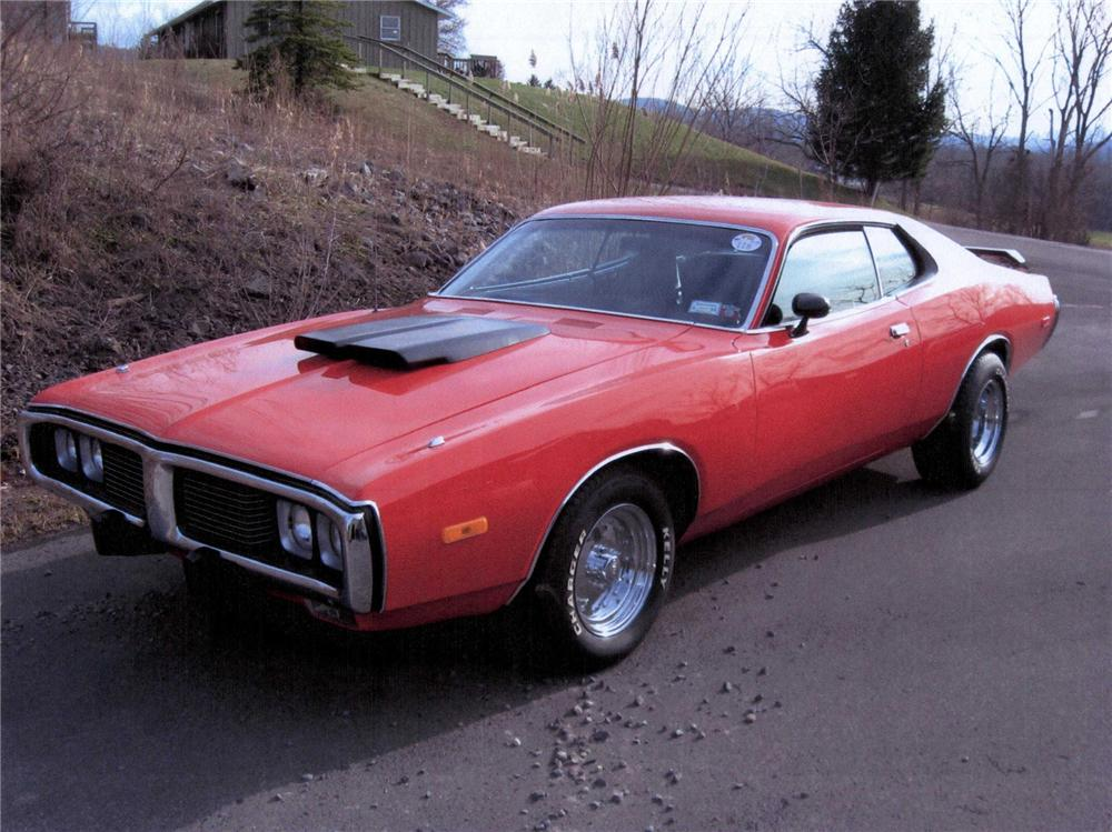 1973 DODGE CHARGER 2 DOOR SEDAN - Front 3/4 - 75456