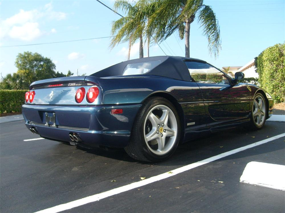 1995 FERRARI 355 SPIDER   - Rear 3/4 - 75459