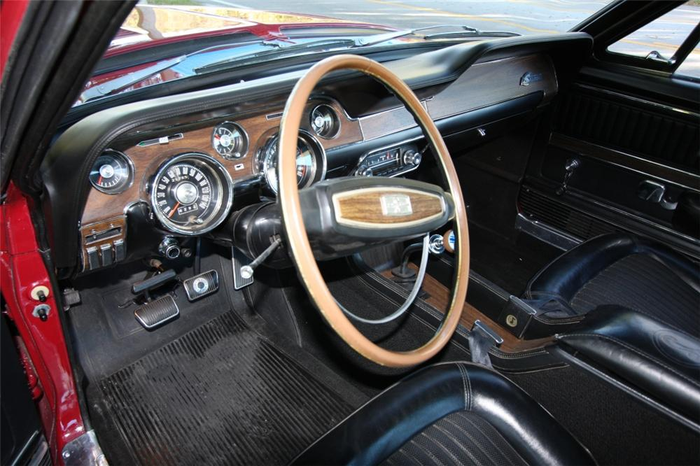 1968 SHELBY GT350 FASTBACK - Interior - 75469