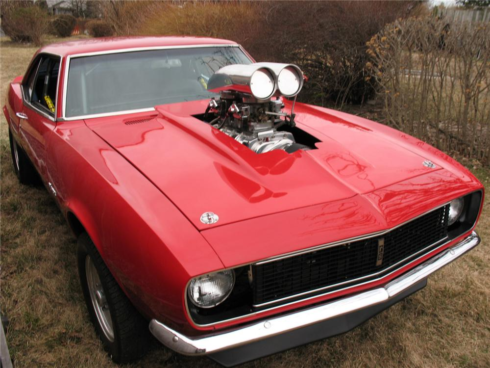 1967 CHEVROLET CAMARO RS/SS CUSTOM PRO-STREET COUPE - Front 3/4 - 75471