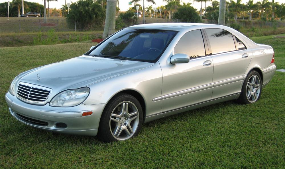 2000 MERCEDES-BENZ 500S 4 DOOR SEDAN - Front 3/4 - 75486