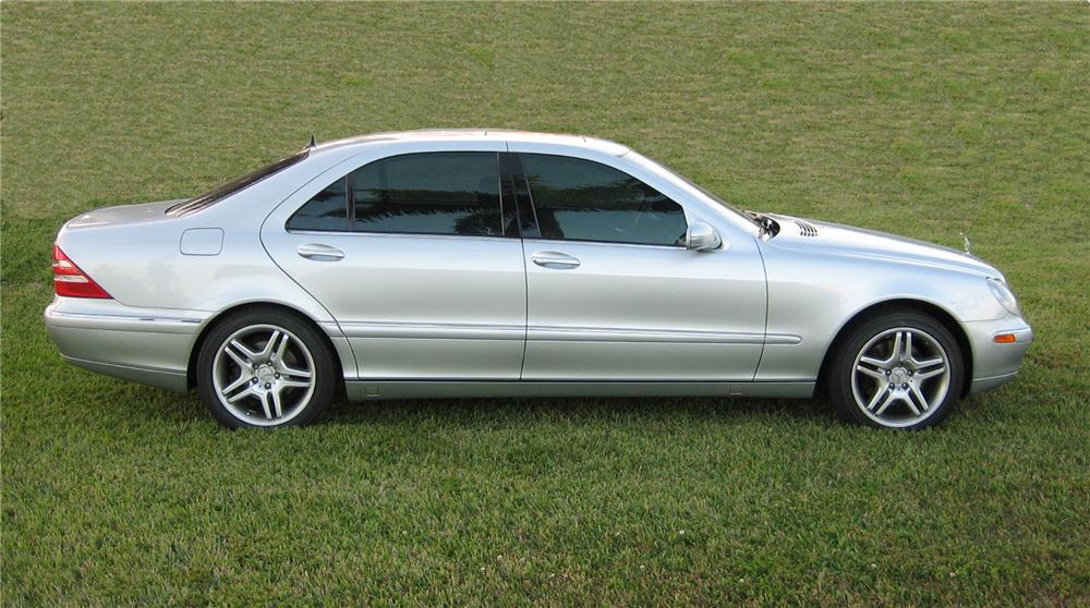 2000 MERCEDES-BENZ 500S 4 DOOR SEDAN - Side Profile - 75486