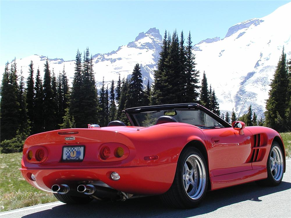 1999 SHELBY SERIES 1 CONVERTIBLE - Rear 3/4 - 75497