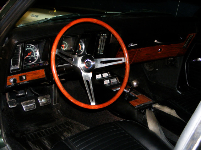 1969 CHEVROLET CAMARO Z/28 COUPE - Interior - 75498