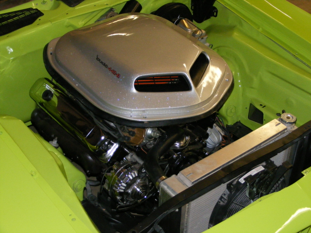 1971 PLYMOUTH CUDA CUSTOM COUPE - Engine - 75499
