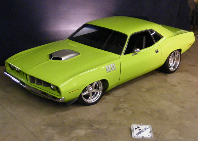 1971 PLYMOUTH CUDA CUSTOM COUPE - Front 3/4 - 75499