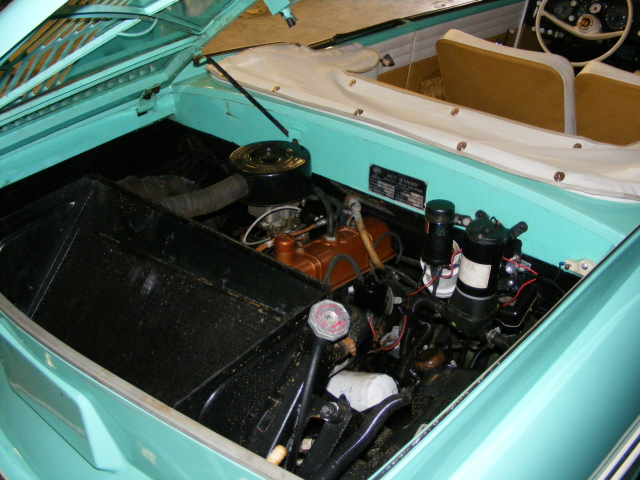 1967 AMPHICAR 770 CONVERTIBLE - Engine - 75500