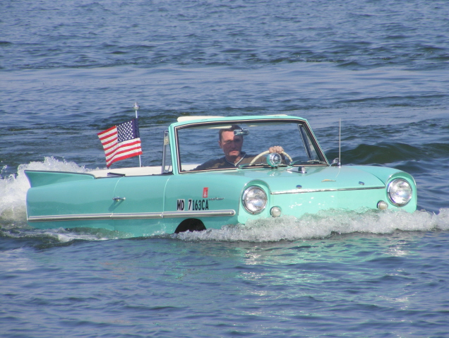 1967 AMPHICAR 770 CONVERTIBLE - Side Profile - 75500