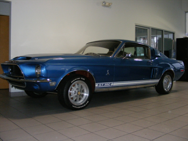 1968 SHELBY GT350 FASTBACK - Front 3/4 - 75501