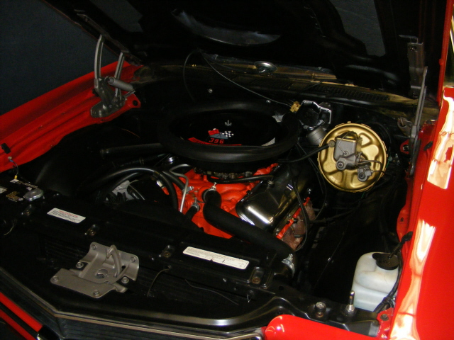 1970 CHEVROLET CHEVELLE SS 396 CONVERTIBLE - Engine - 75502
