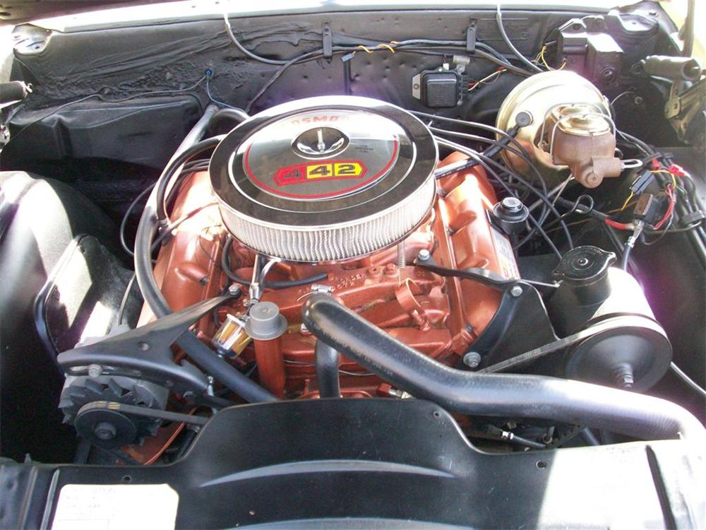 1967 OLDSMOBILE CUTLASS 442 CONVERTIBLE - Engine - 75507
