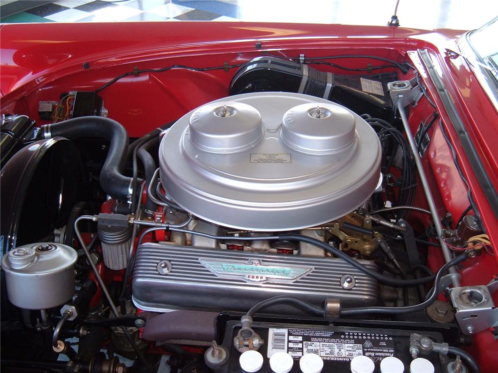 1957 FORD THUNDERBIRD E CONVERTIBLE - Engine - 75519