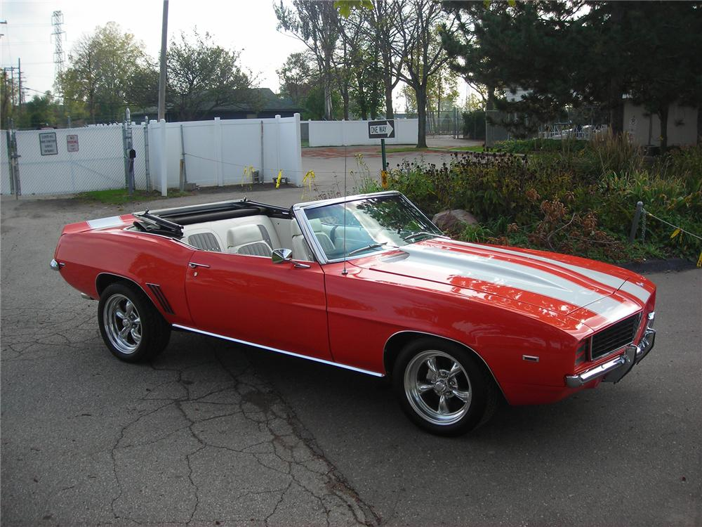 1969 chevrolet camaro rs ss convertible resto mod barrett jackson. Cars Review. Best American Auto & Cars Review