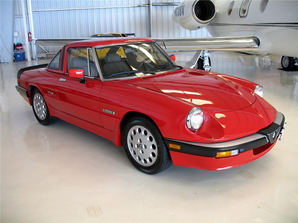 1986 alfa romeo spider convertible 75598. Black Bedroom Furniture Sets. Home Design Ideas