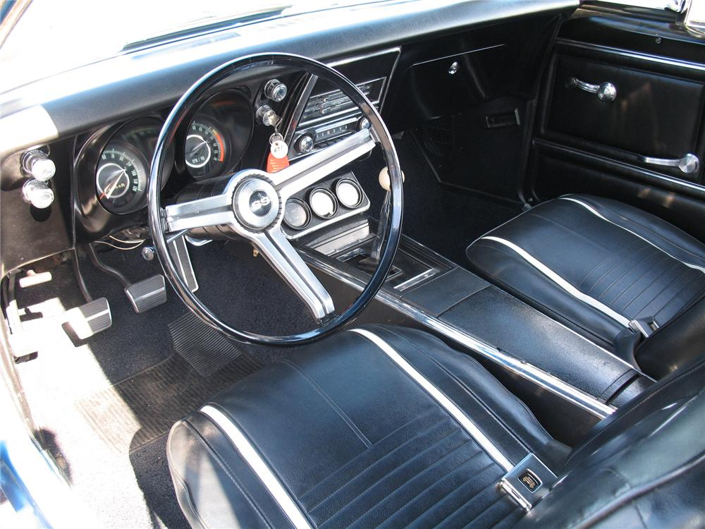 1967 CHEVROLET CAMARO RS/SS COUPE YENKO RE-CREATION - Interior - 75600