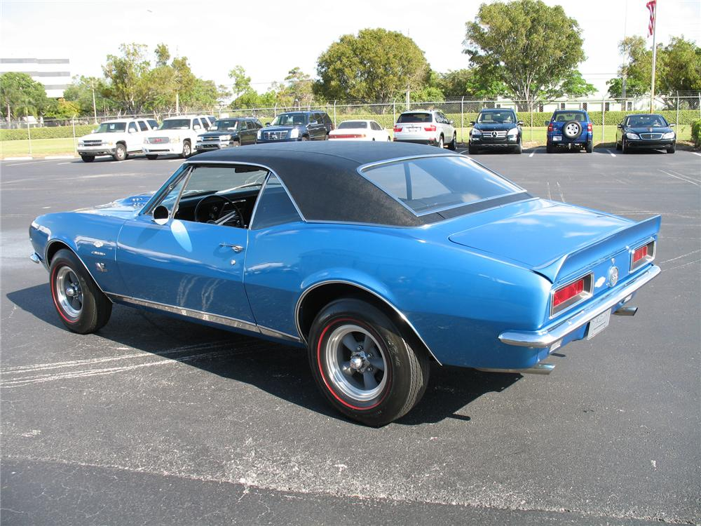 1967 CHEVROLET CAMARO RS/SS COUPE YENKO RE-CREATION - Rear 3/4 - 75600