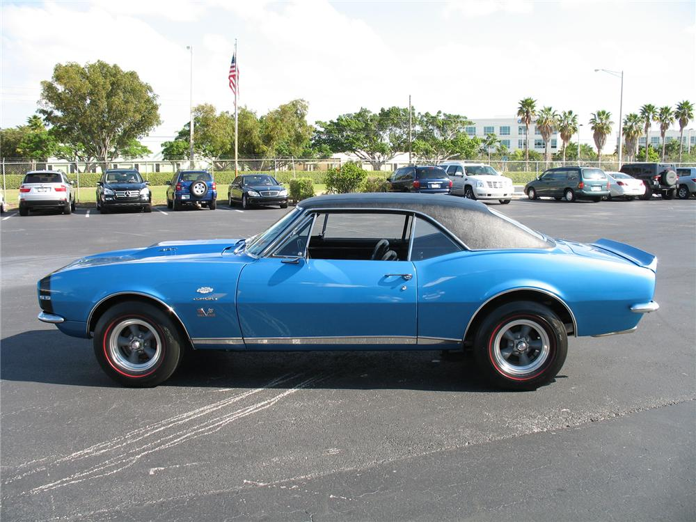1967 CHEVROLET CAMARO RS/SS COUPE YENKO RE-CREATION - Side Profile - 75600