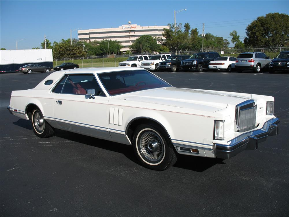 1979 LINCOLN CONTINENTAL MARK V 2 DOOR HARDTOP - Front 3/4 - 75601