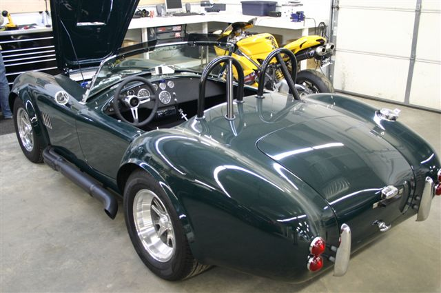 1965 SHELBY COBRA 427 ROADSTER RE-CREATION - Front 3/4 - 75613