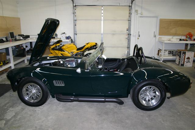1965 SHELBY COBRA 427 ROADSTER RE-CREATION - Side Profile - 75613