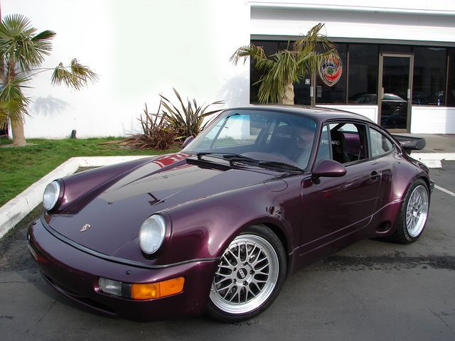 1991 PORSCHE 911 TURBO COUPE - Front 3/4 - 75614