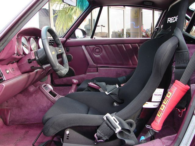 1991 PORSCHE 911 TURBO COUPE - Interior - 75614