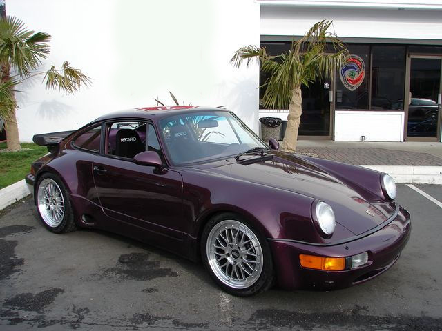 1991 PORSCHE 911 TURBO COUPE - Side Profile - 75614