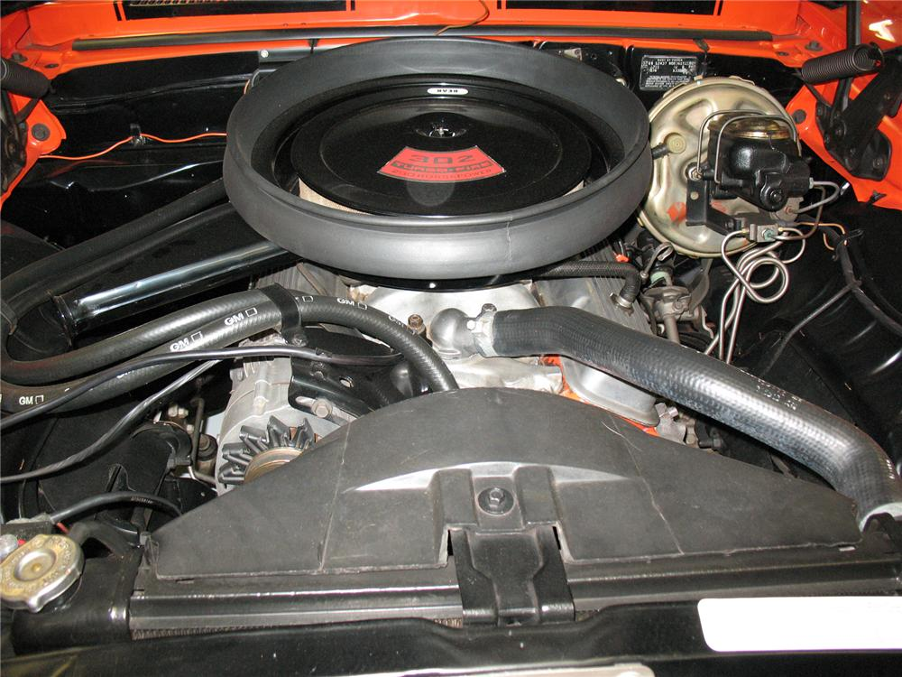 1969 CHEVROLET CAMARO Z/28 COUPE - Engine - 75662