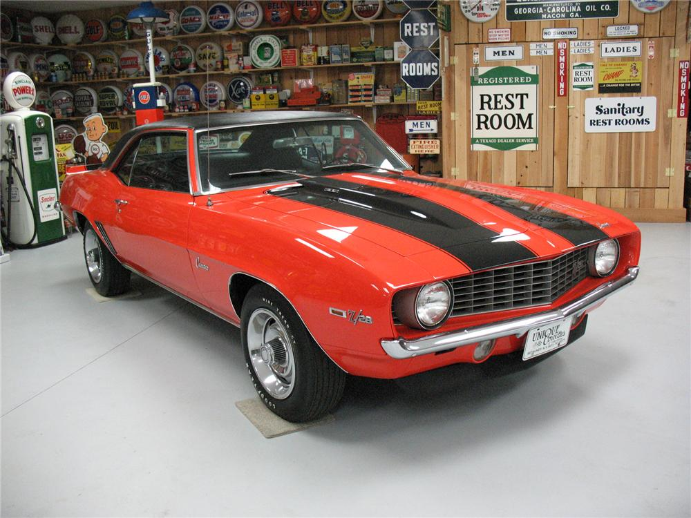 1969 CHEVROLET CAMARO Z/28 COUPE - Front 3/4 - 75662