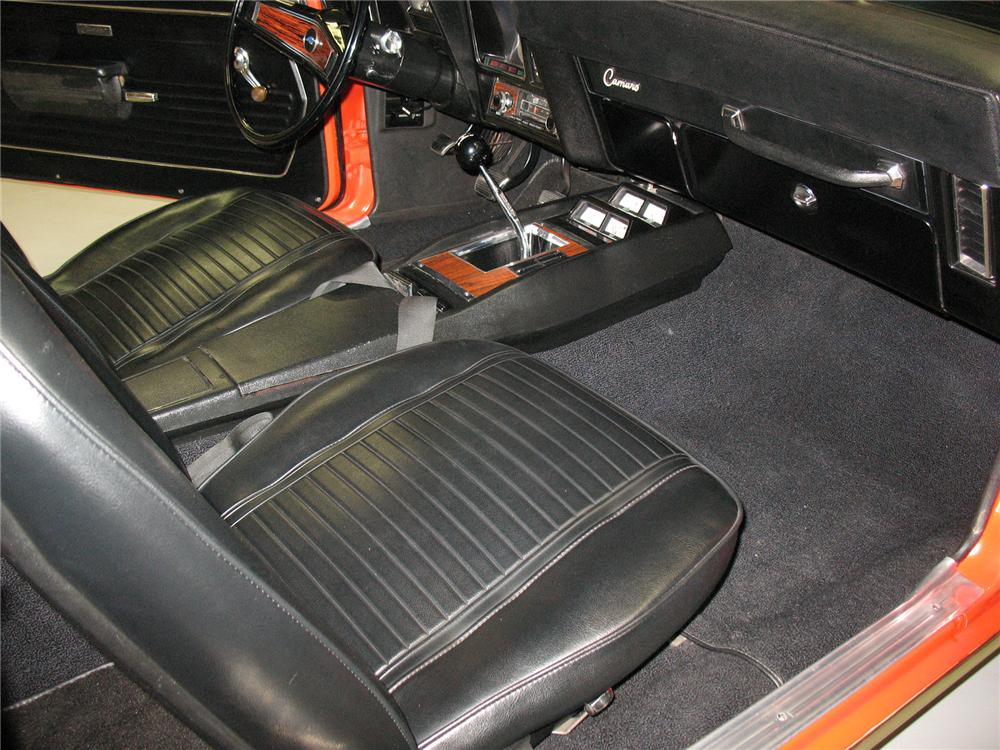 1969 CHEVROLET CAMARO Z/28 COUPE - Interior - 75662