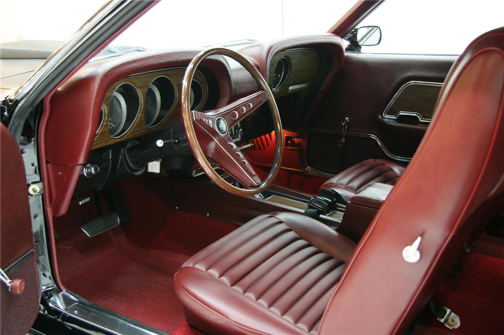 1969 FORD MUSTANG MACH 1 FASTBACK - Interior - 75826