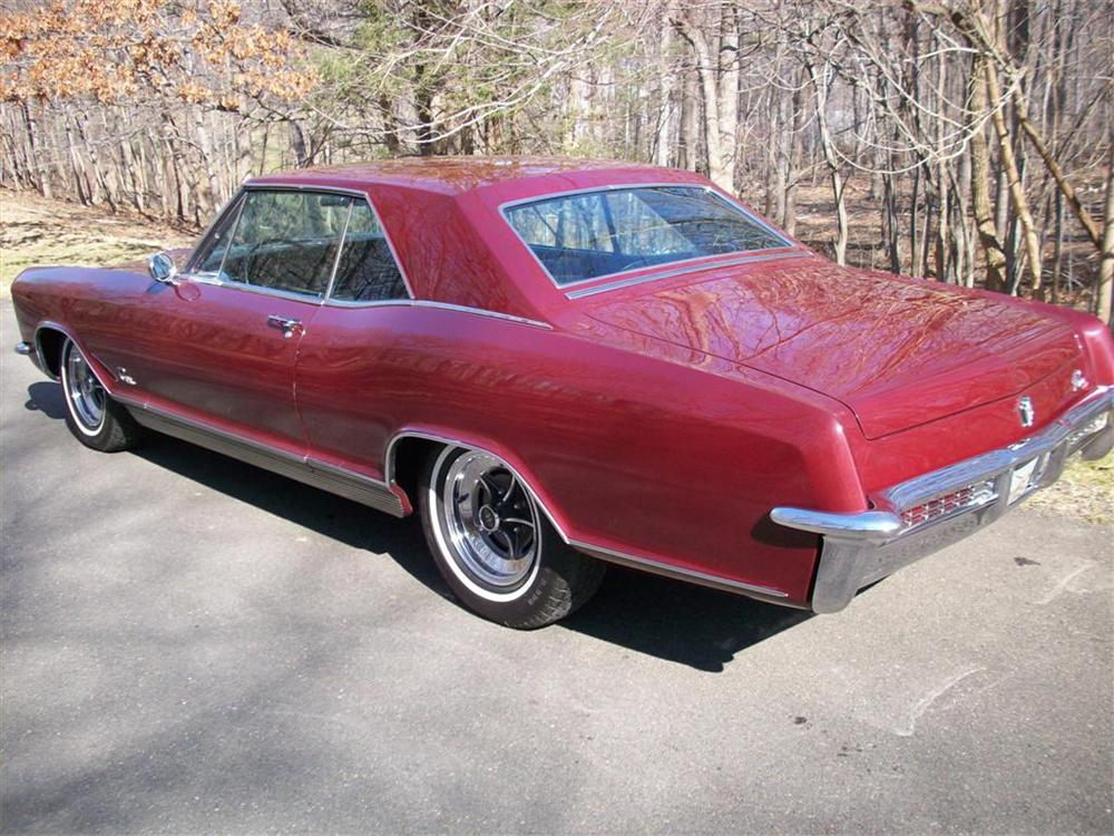 1965 BUICK RIVIERA GS 2 DOOR HARDTOP - Rear 3/4 - 75835
