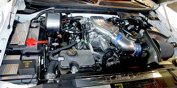 2003 FORD F-150 LIGHTNING PICKUP - Engine - 79034