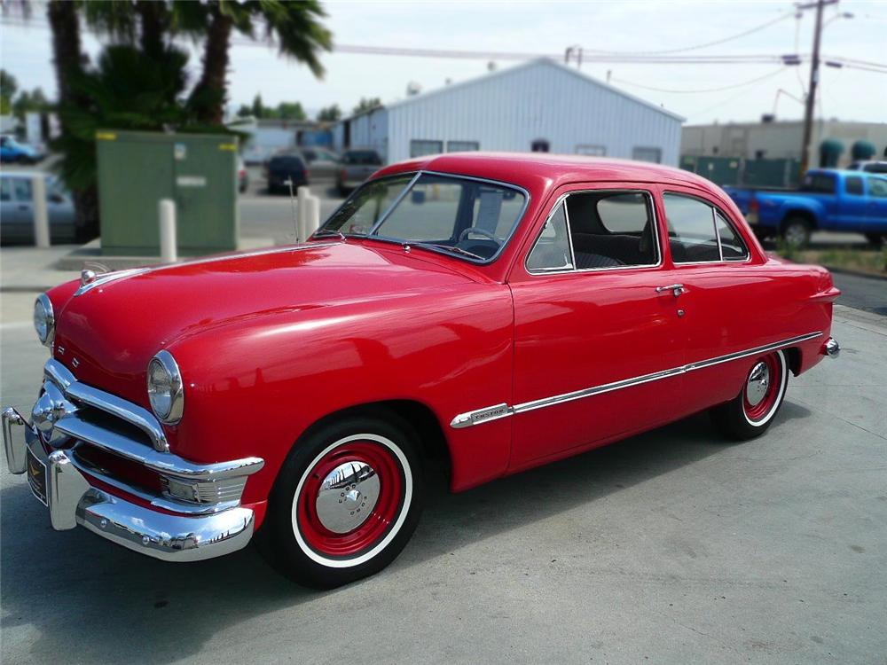 ... 1950 FORD 2 DOOR SEDAN - Front 3/4 - 79038 ... : 1950 doors - pezcame.com