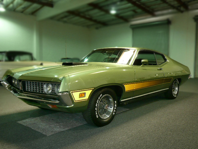 1971 FORD TORINO GT 2 DOOR SPORTSROOF - Front 3/4 - 79040