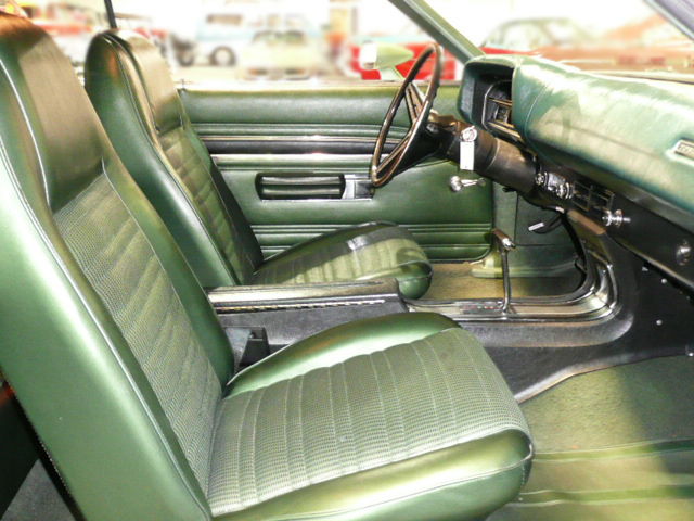 1971 FORD TORINO GT 2 DOOR SPORTSROOF - Interior - 79040