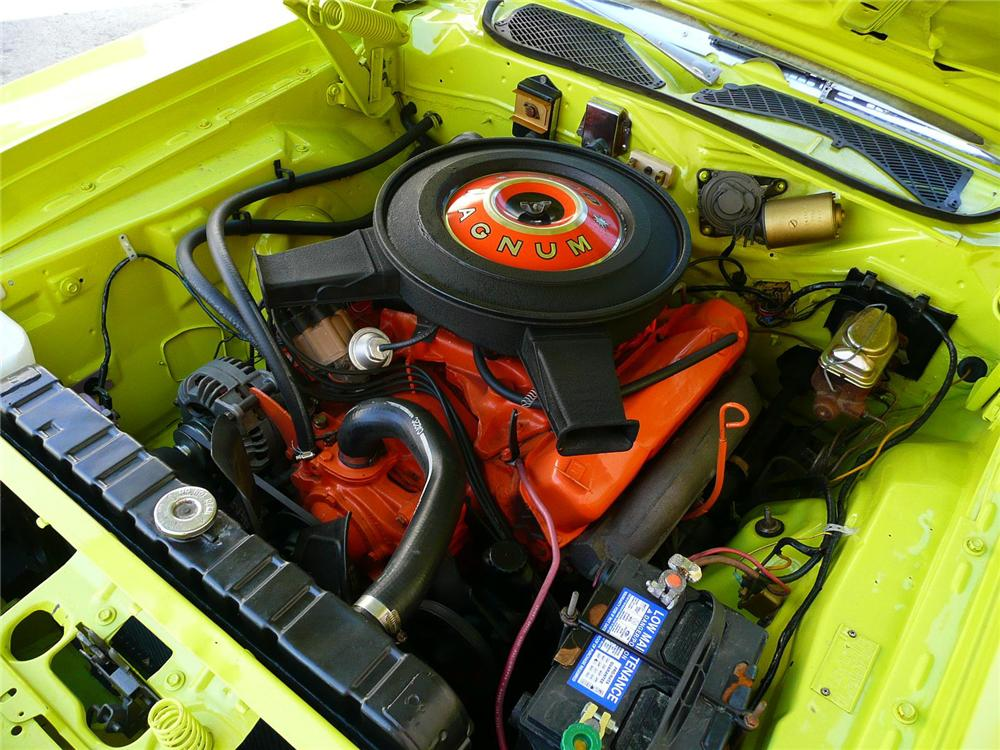 1971 PLYMOUTH ROAD RUNNER COUPE - Engine - 79042