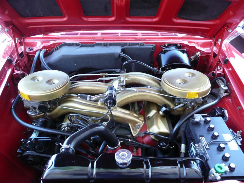1960 PLYMOUTH FURY CONVERTIBLE - Engine - 79049