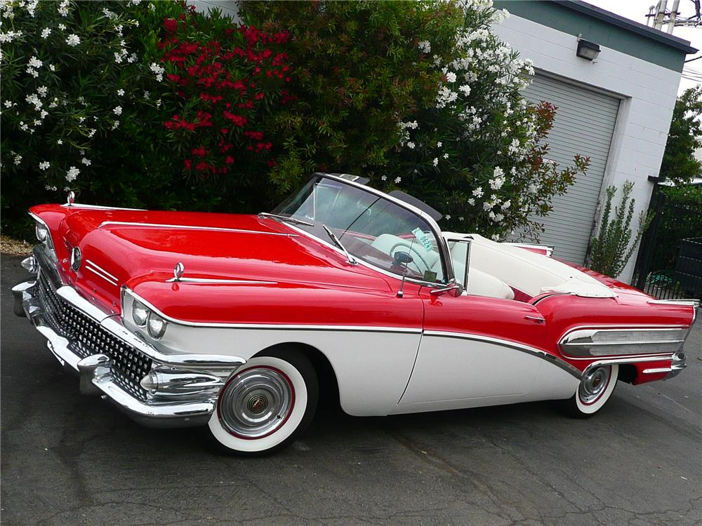 1958 BUICK SPECIAL CONVERTIBLE - Front 3/4 - 79051